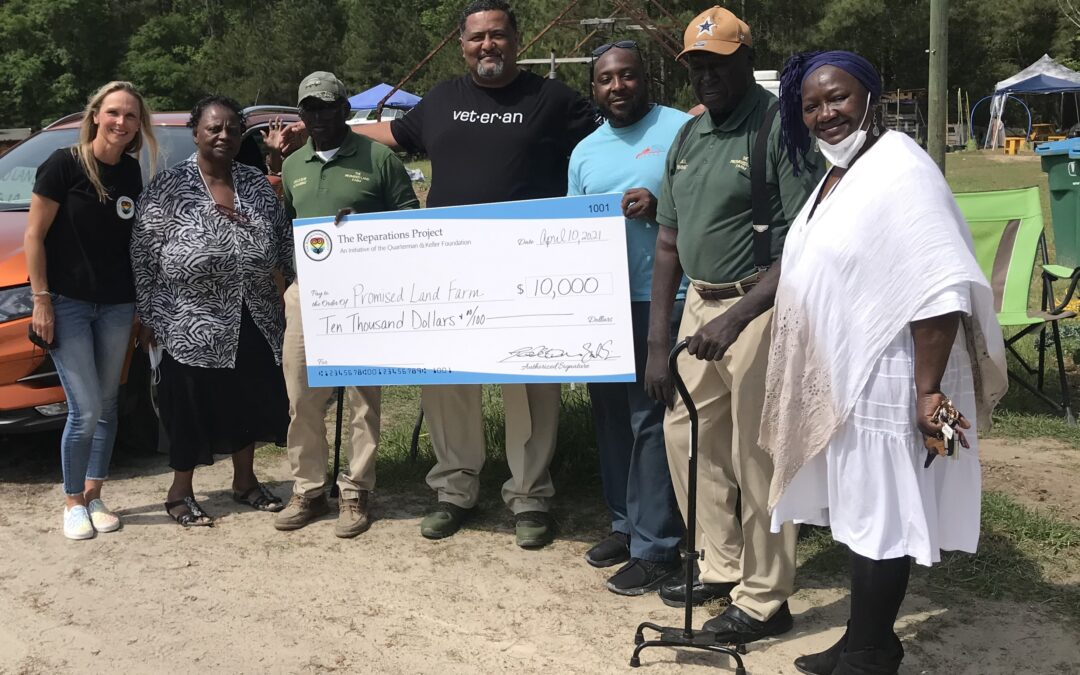 Reparations in Port Wentworth: Promised Land Farm